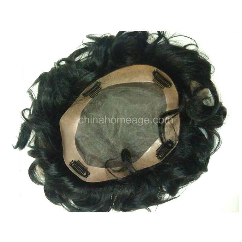 homeage human hair ties for men
