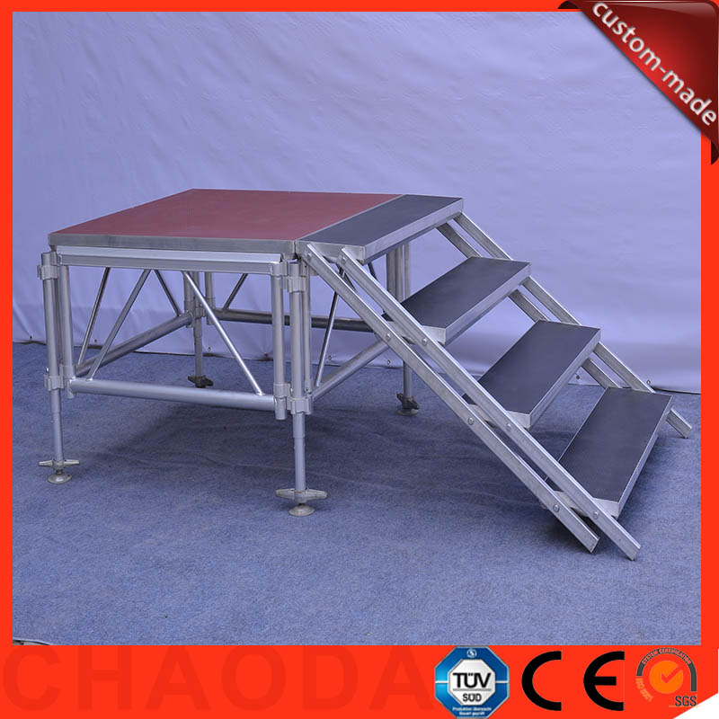 aluminum folding portable stage platform