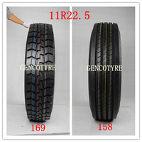 Rubber radial bus tyre tire from China tire supplier 11R22.5