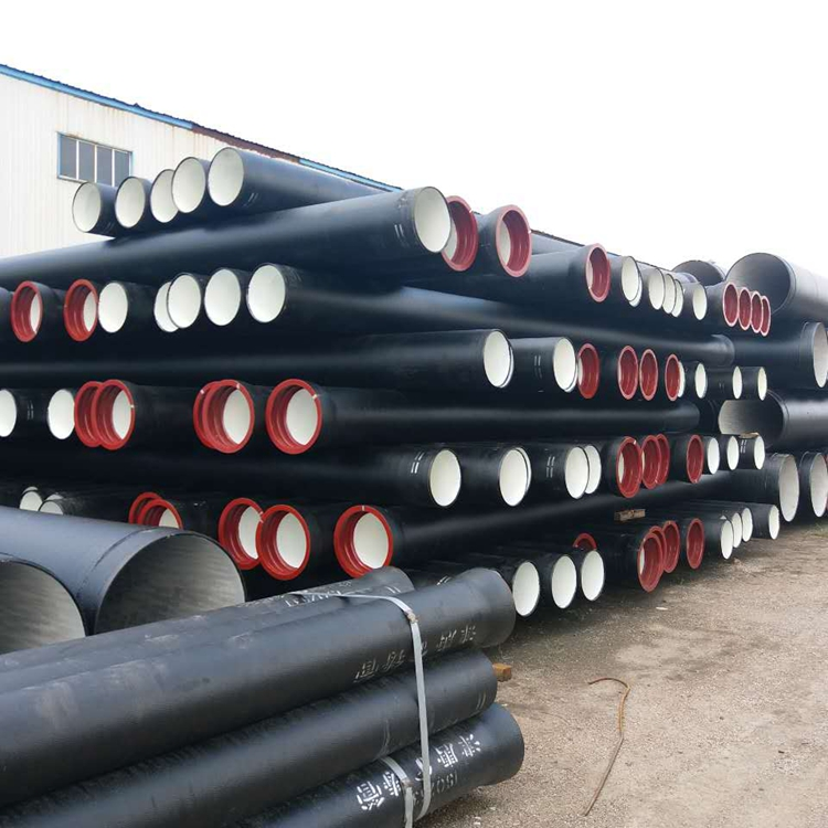 Factory directly provide class k9 ductile pipe black iron