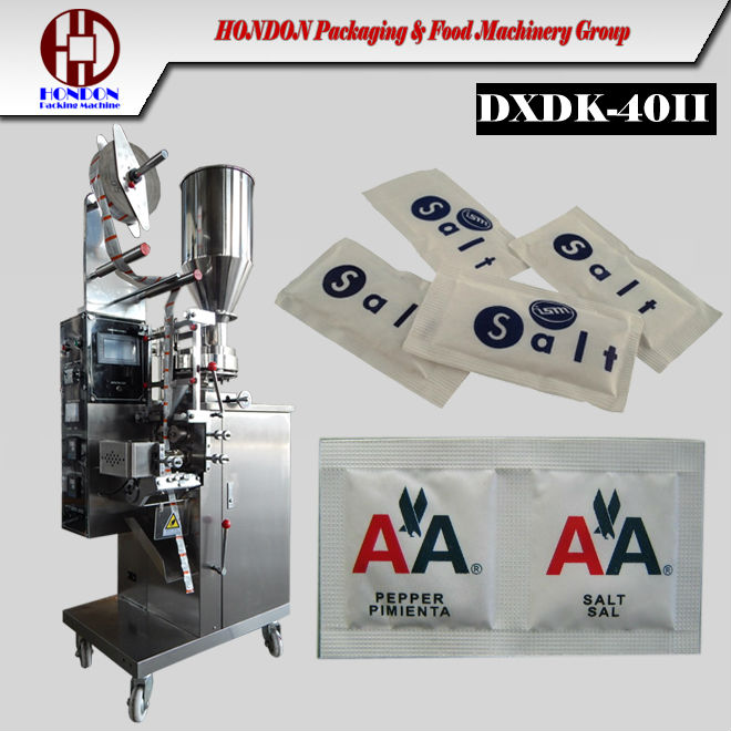 Salt and pepper packing machine