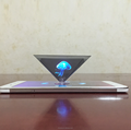 Full 3D Holographic display showcase 3d holographic projection for advertising