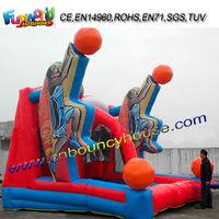 Inflatable Basketball Shooting Game Inflatable Football Game