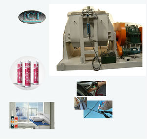 machine for making tire sealant with air compressor