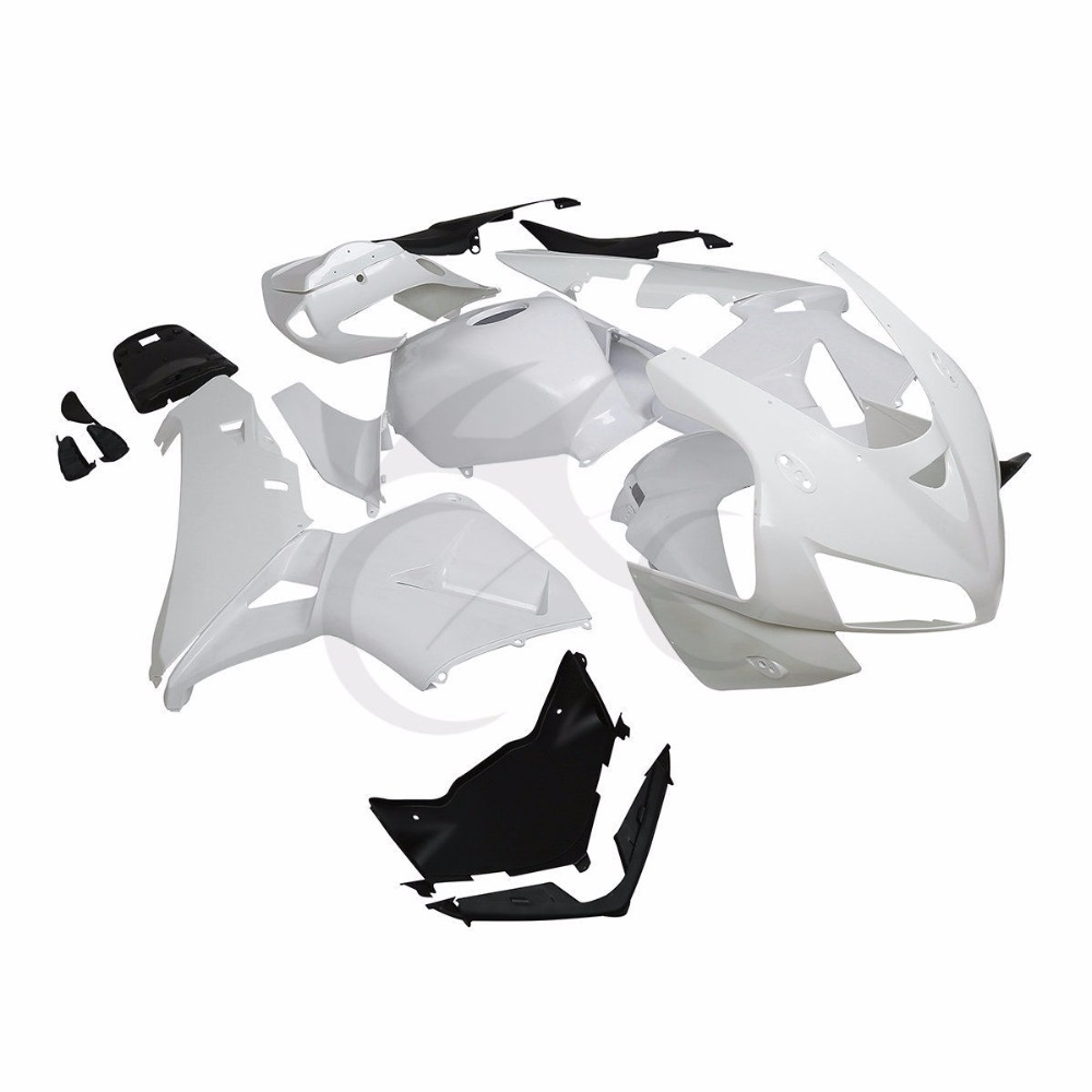 Unpainted ABS White Injection Fairing Kit For Honda CBR600RR CBR 600 RR F5 03-04 XF-4020-W