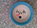 stock 7' ceramic handpainted bowl