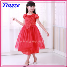 2015 Fashion latest summer girls free prom dress designs formal kids 3 year old girl dress