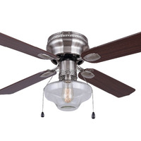 42 Inch Hugger Ceiling Fan With