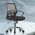 C28 Easy home mid back black mesh office chair