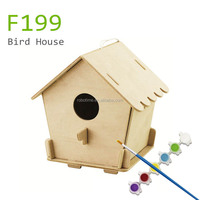 europe DIY wooden bird house