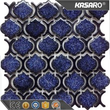 KTC-002 wholesalers kitchen and bathroom wall backsplash lantern blue ceramic wall tiles