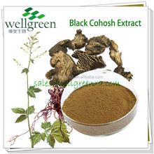 Wild Black Cohosh Extract Triterpene Glycosides -ISO Certificate Product-100% for Natural-Health Supplement