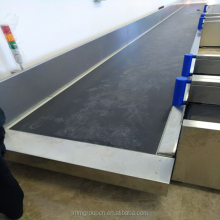 passenger horizontal baggage Turntable Check-in Airport Belt Conveyor