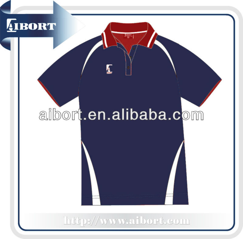 New Design volleyball polo shirts for women