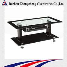 glass top stool table