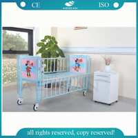 AG-CB003 With Cartoon picture flat hospital children bed design