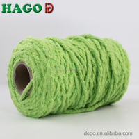 2015 hot selling white recycled cotton friction spun 4 ply mop yarn