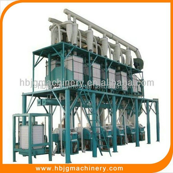 Multifunctional wheat/corn/maize /grain flour milling plant/flour mill with low price