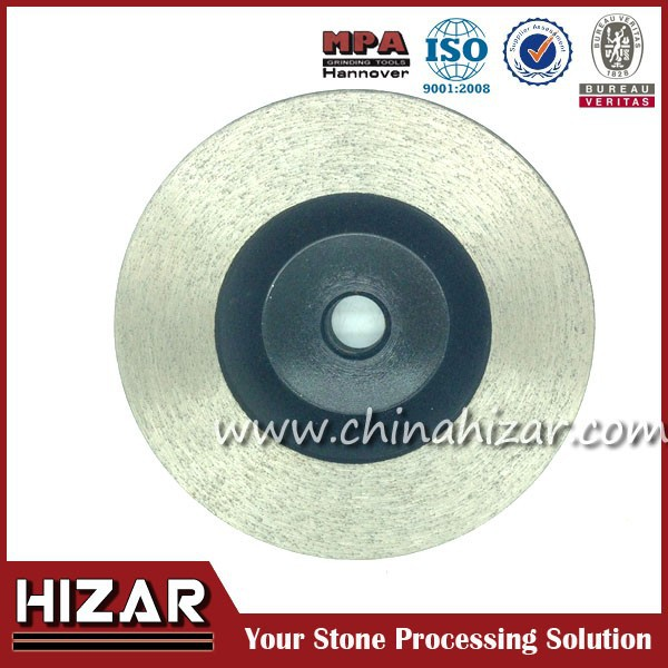 china stone Continuous Rim Diamond Grinding Cup Wheel