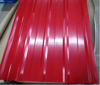 Color Coated Metal Roofing Sheet/Prepainted Corrugated Iron Roofing Plate