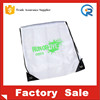 wholesale eco-friendly cheap 210D polyester gym bag polyester drawstring backbag sports bag