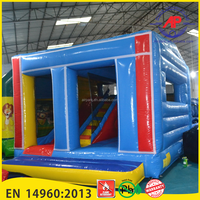 Airpark New Inflatable Blue Jumping Bouncer House, Best Bouncing House