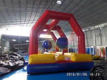 big baller inflatable obstacle course,Challenge Inflatable Game for sale
