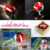 2016 pokemon pokeball portable charger pokemon go power bank supplier for smart phone case with LED Light for iphone 7 6plus