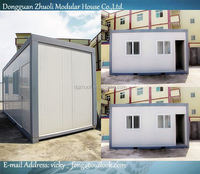 Modular prefab home kit price,low cost prefab portable camp house