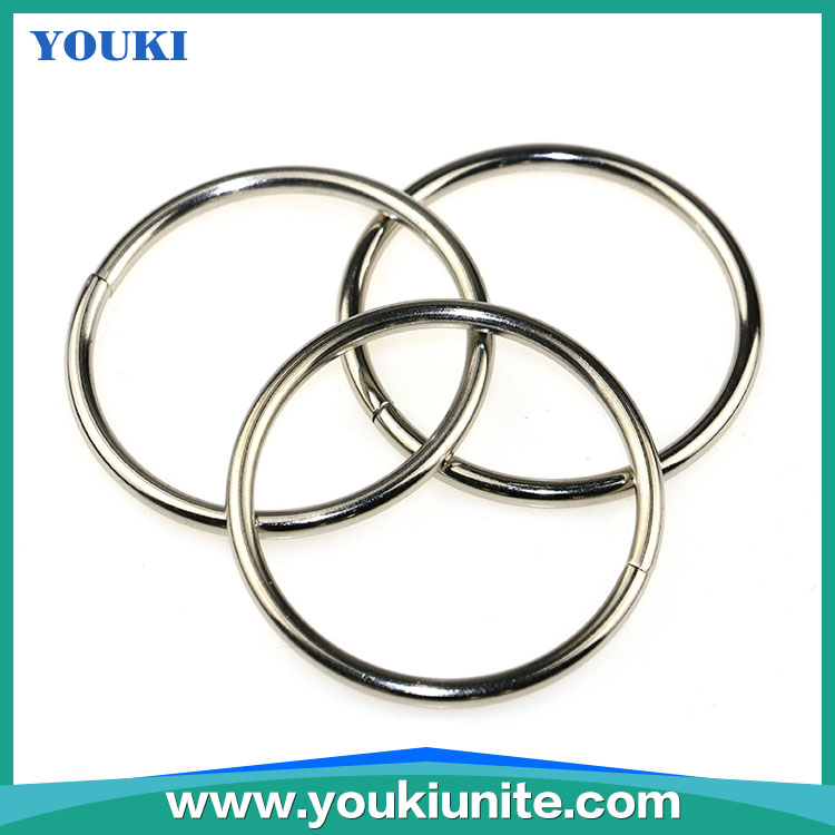 Factory supply cheap 45mm round metal split key ring