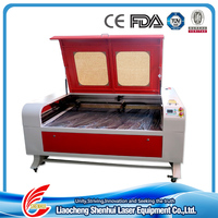 10 Years Canton Fair exhibitor 1212 laser cutting bed machine with CE FDA ISO TUV