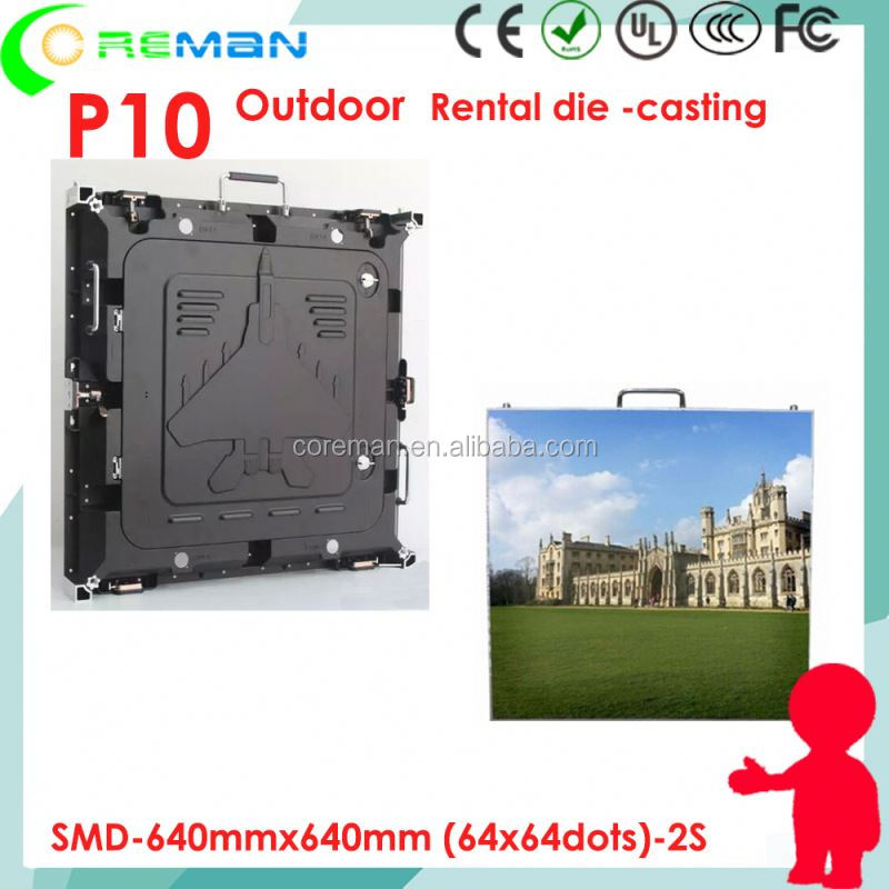 p6.25 p4 flexible outdoor led screen , football stadium led screen panel p10 p8 p6 , smd dot matrix module p10 16 x 32
