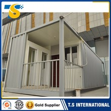 Modern Fast construction refugee camp prefab house shelter