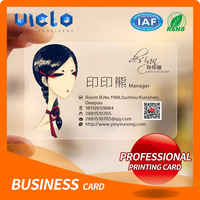 Customized professional private design business card of Higih Quality
