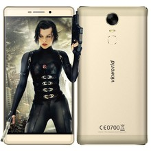 Reputation First Supplier Kratos vkworld T1 plus Fingerprint 4G China Mobile Phone OTG 4300mAh Android 6.0 Smartphone