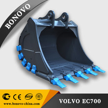 customizable ISO-certified Excavator Bucket dingging bucket ETEC 25 for excavator
