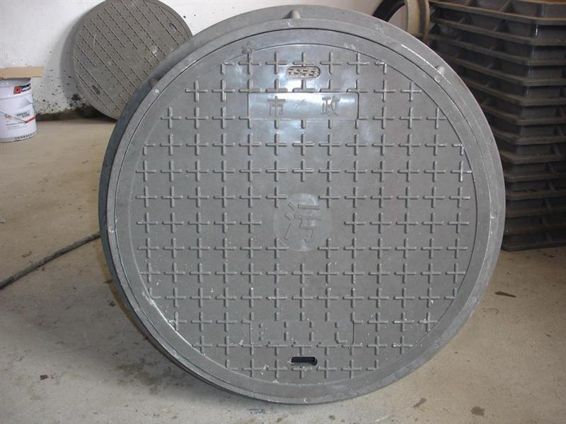 Plastic pvc manhole cover made in China