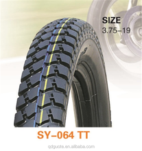 2017 cheap 375 19 motorcycle tire price customized motorcycle tire size black Rubber content 30-45% motorbike tyre 3.00-17