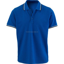 Custom Polo T-shirt Manufacturer Bangladesh Golf Design 100% Cotton Pique Mans Polo Shirt