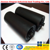 belt conveyor systems tube roller impact idler with rubber rings