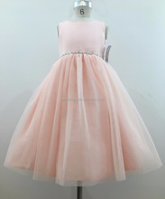 A - Line Sleeveless Puffy Flower Girl Dresses Party Dress For Kids