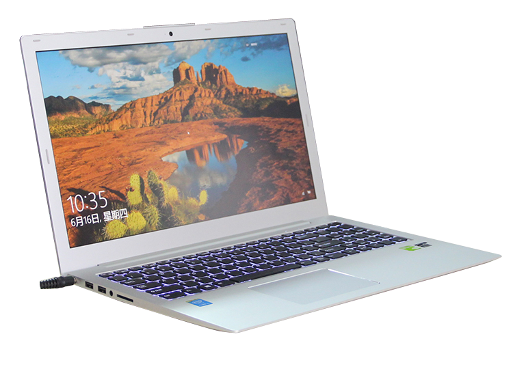 15.6 Inch Laptop Computer Notebook Computer With Intel Core i7 6498DU GT940M 2G Discrete Graphics
