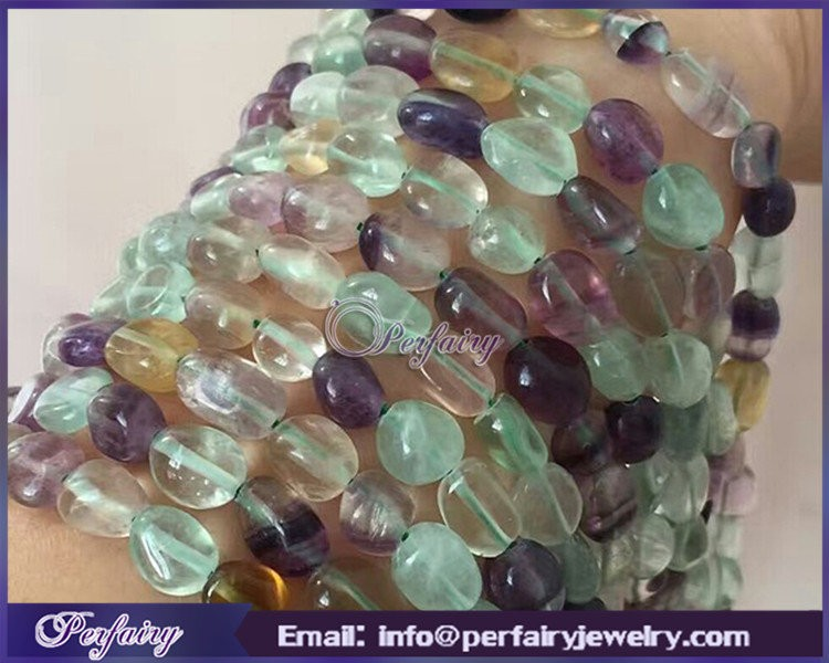 hot string fluorite tumble 6x8mm wholesale crystal beads strands hand made necklace and earrings beads for jewelry design