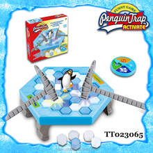 2017 Educational Toy Board Game Happy Penguin Trap Tap Ice Game