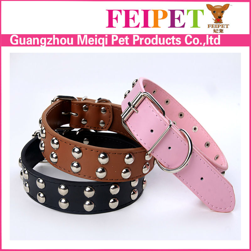 Wholesale pitbull collars fake diamond dog collar