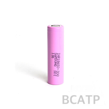 Pink samsung 30Q 18650 3000mah 3.7V Li-ion rechargeable samsung 18650 battery for vape