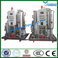 KYJ Fire-Resistant Oil / EHC hydraulic Oil Purifier Machine ( Vacuum Evaporation+ Acid Removal)