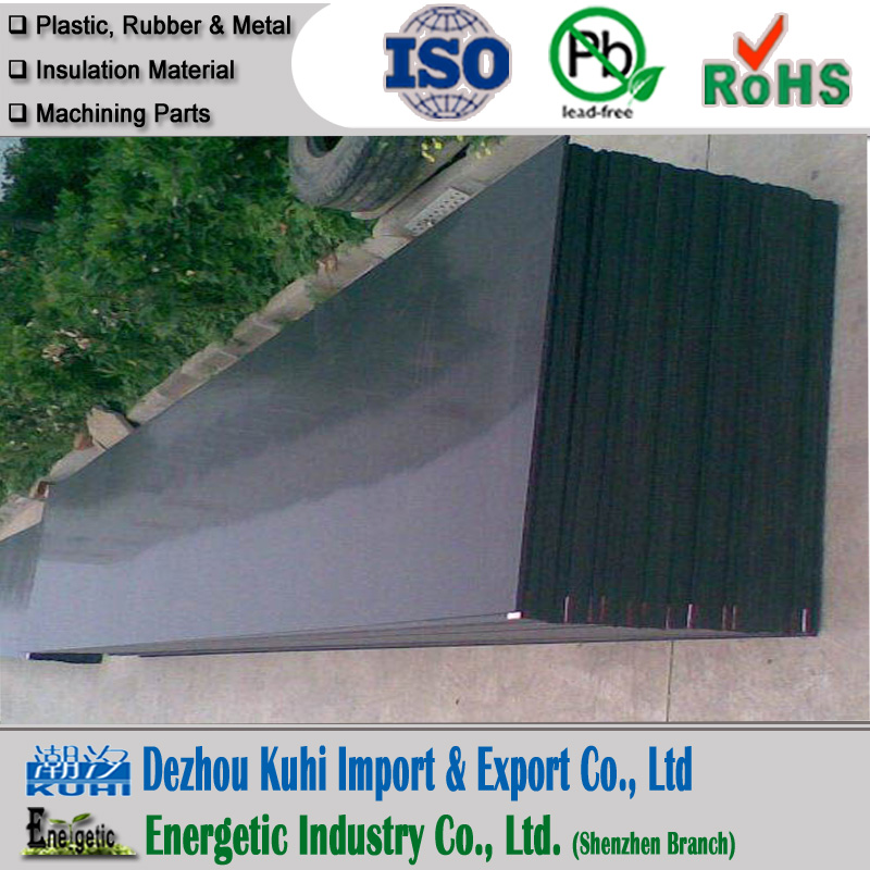 high quality PE sheet/Black 20mm HDPE sheet