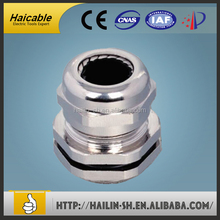 Haicable CE,ROHS,REACH approved Brass Cable Gland Different Types And Din Standard