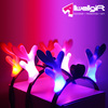 creative led dragon horn party flashing hair band